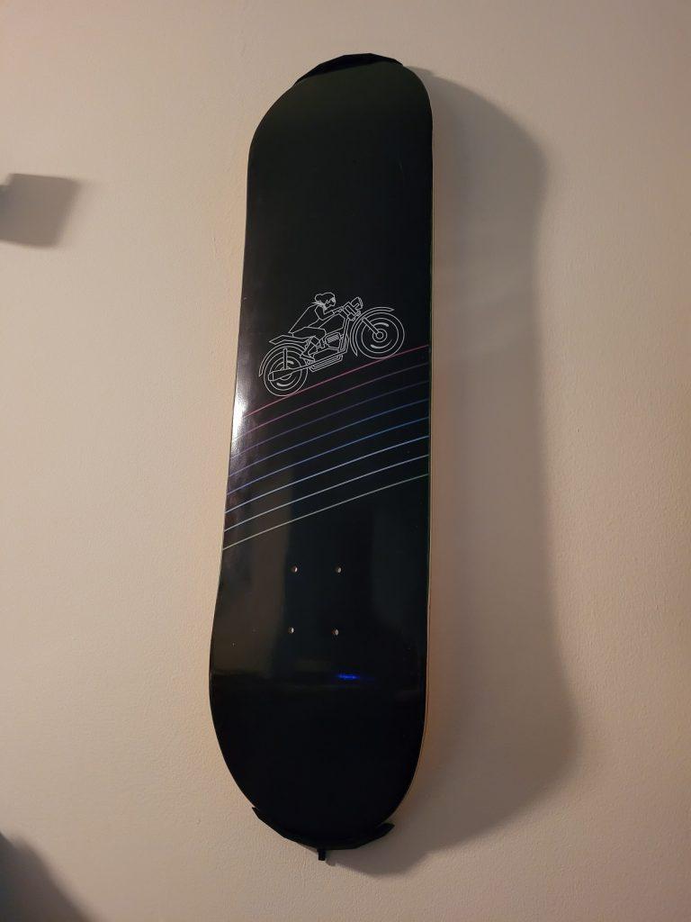 Sayonara Wild Hearts skateboard deck